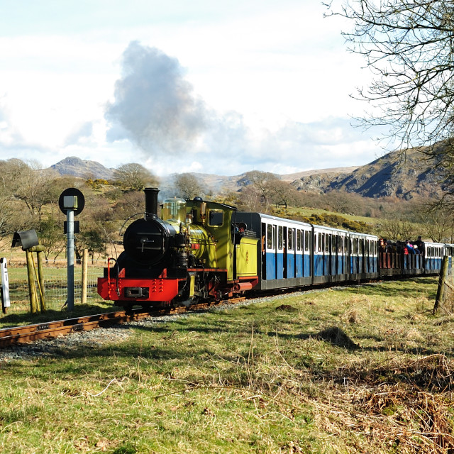 """Lakeland steam"" stock image"