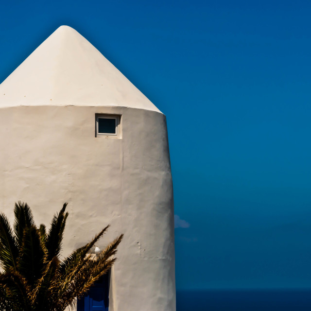 """""""Closeup of Typical Greek Building"""" stock image"""