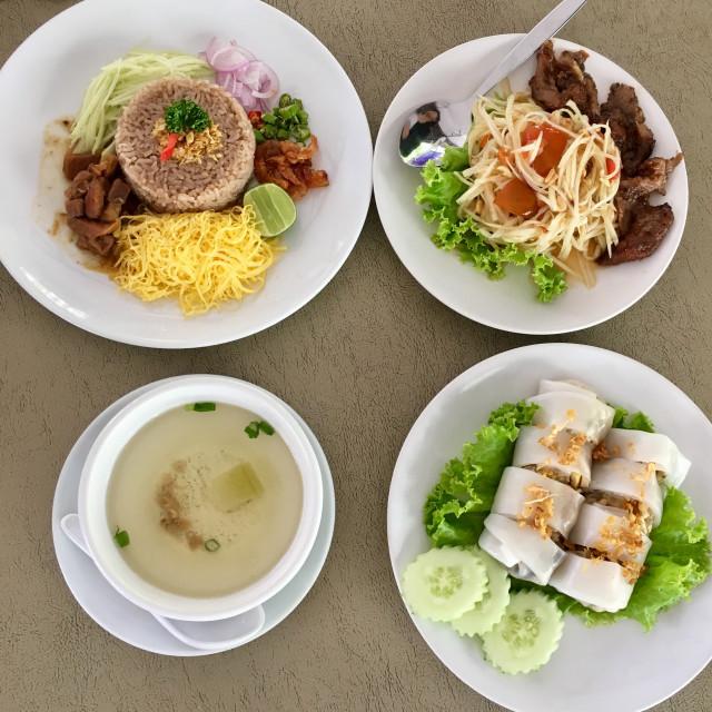 """""""Thai food"""" stock image"""