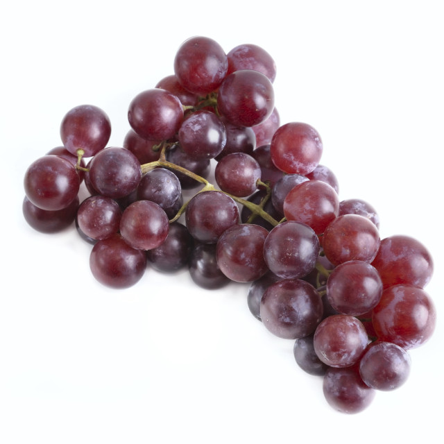"""""""purple grapes isolated"""" stock image"""