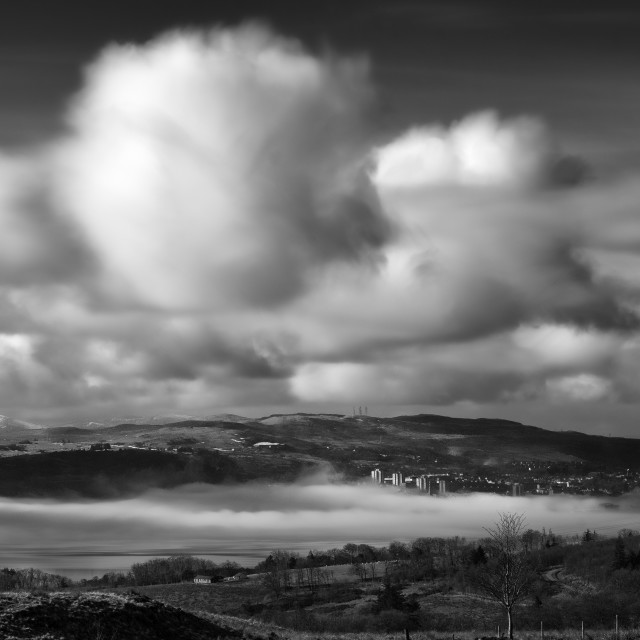 """""""The Clyde B&W"""" stock image"""
