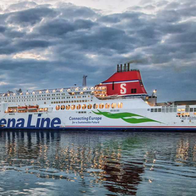 """Stena Hollandica"" stock image"