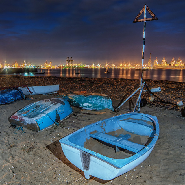 """From Harwich To Felixstowe"" stock image"