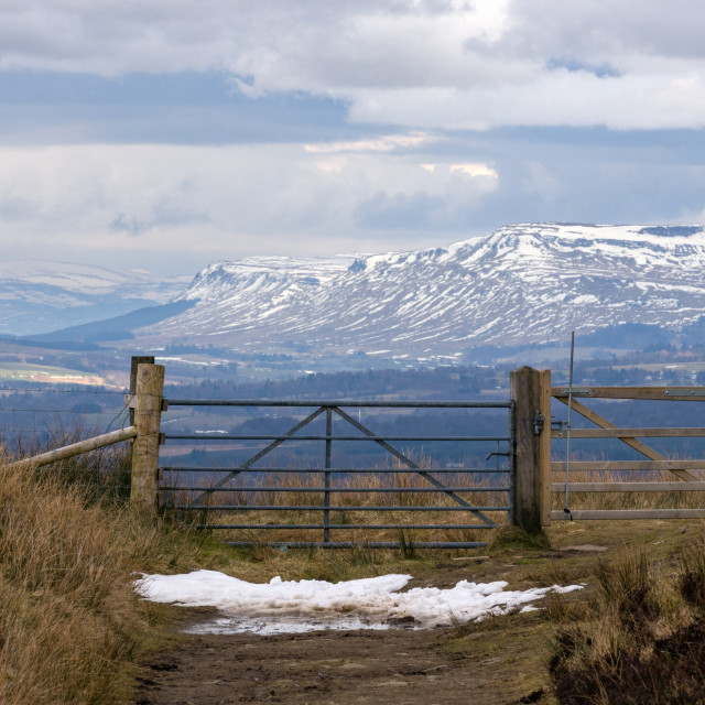 """""""Gateway to the Highlands"""" stock image"""