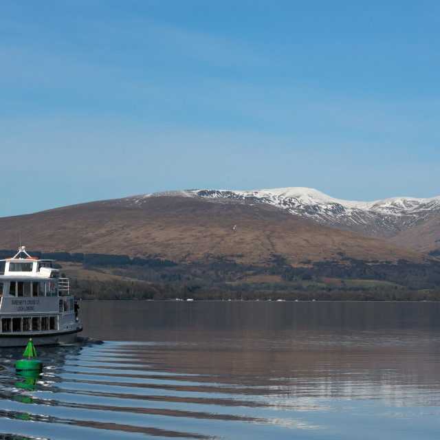 """Loch Lomond Tour"" stock image"
