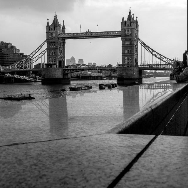 """London tower Bridge"" stock image"