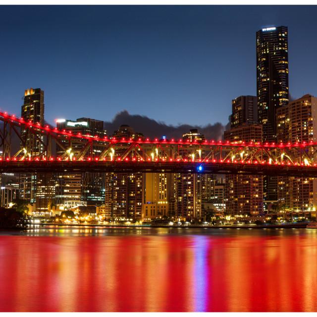 """""""Story Bridge, Brisbane"""" stock image"""