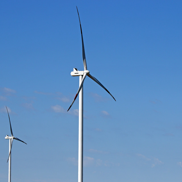 """""""wind turbines power and energy industry"""" stock image"""