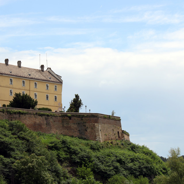 """Petrovaradin fortress Novi Sad Serbia"" stock image"