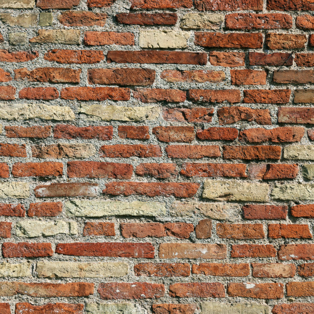 """""""old house brick wall detail"""" stock image"""