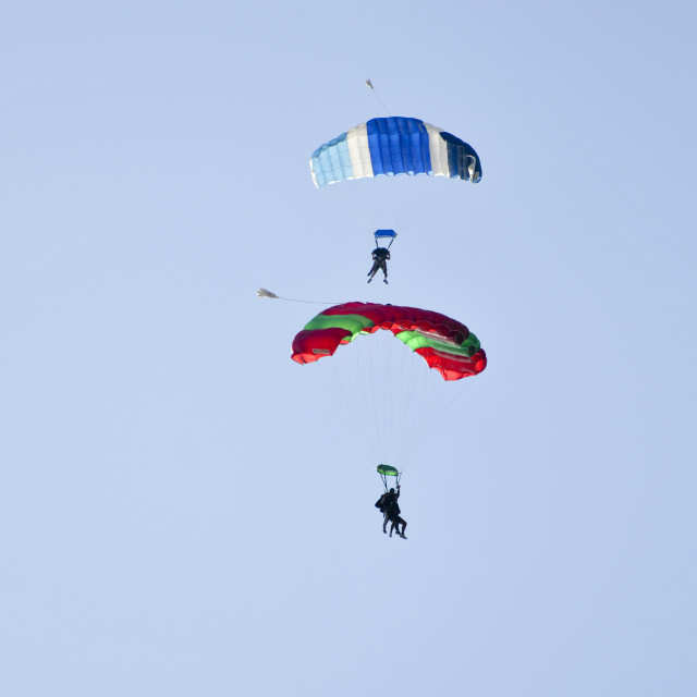 """""""Skydiving"""" stock image"""