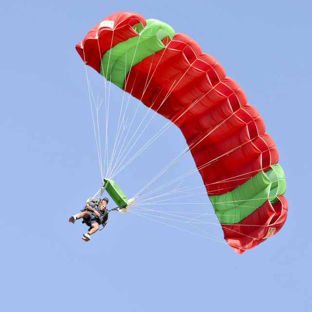 """Skydiving"" stock image"