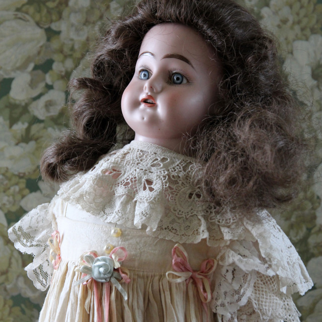 """The doll"" stock image"
