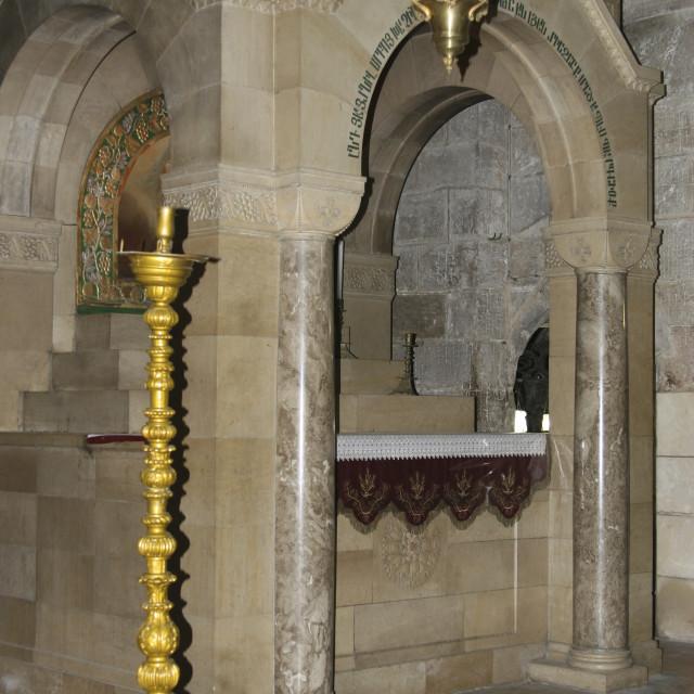 """""""Jerusalem, Dormition Abbey"""" stock image"""