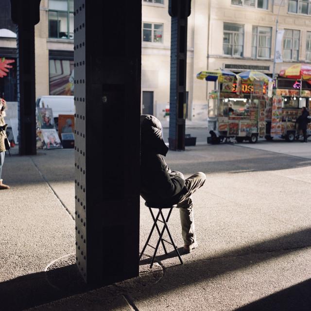 """Greenwich Village, New York"" stock image"