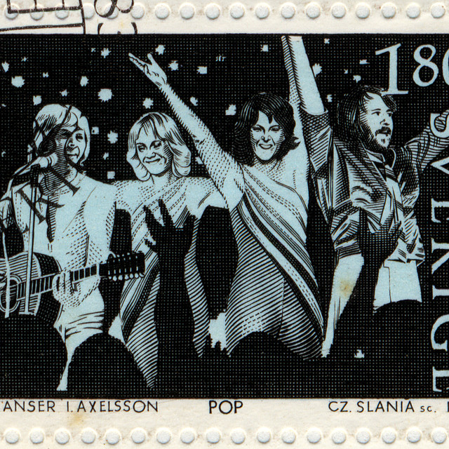 """""""abba postage stamp"""" stock image"""