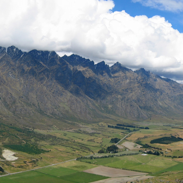 """""""The Remarkables"""" stock image"""