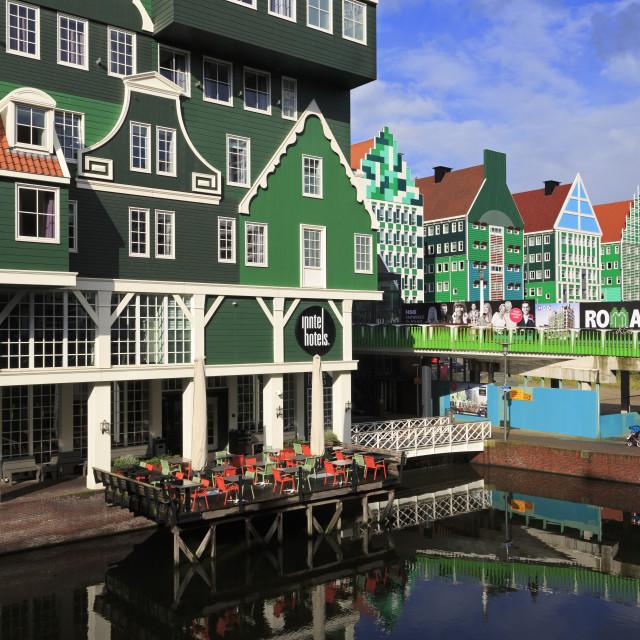 """Inntel Hotel, Zaandam, Holland, Netherlands, Europe"" stock image"