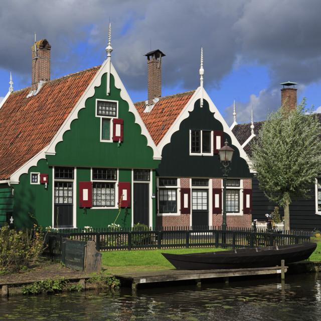 """Zaanse Schans Historical Village, Zaandam, Netherlands"" stock image"