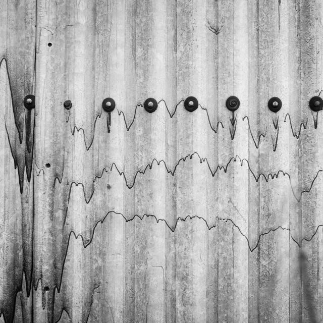 """""""Corrugated Sheeting"""" stock image"""