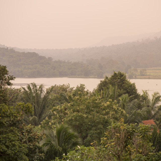 """THAILAND BURIRAM LANDSCAPE"" stock image"