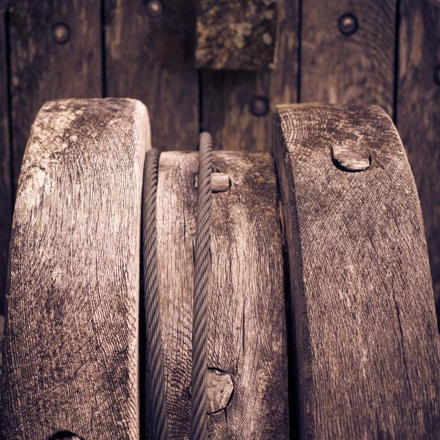"""Oak Land Anchors"" stock image"