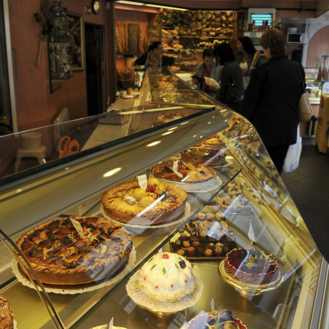 """Paris, patisserie"" stock image"