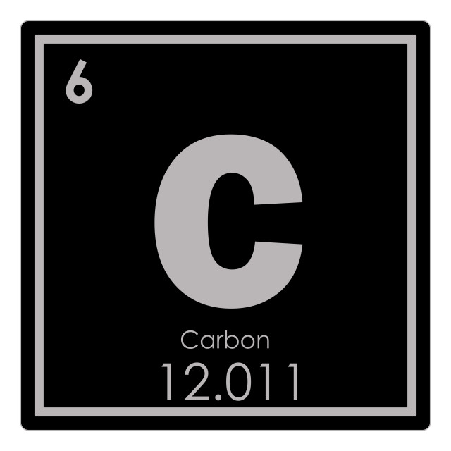 """""""Carbon chemical element"""" stock image"""