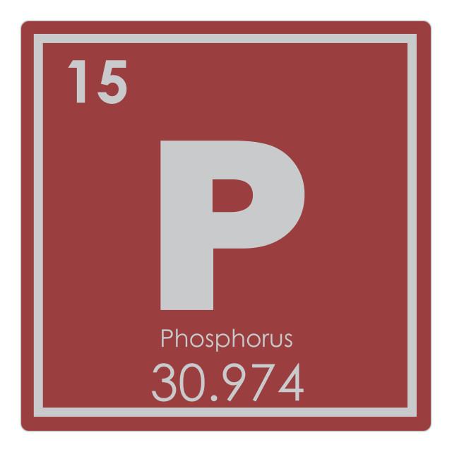 """Phosphorus chemical element"" stock image"