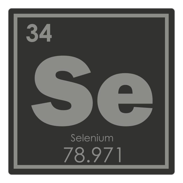 """Selenium chemical element"" stock image"