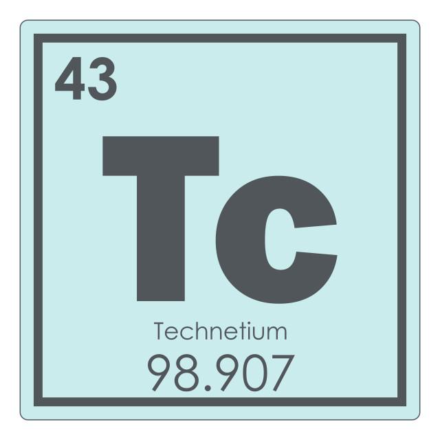 """Technetium chemical element"" stock image"