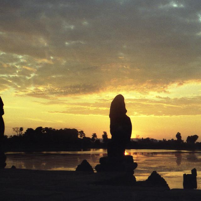 """""""Sunrise Ankor Wat, Cambodia"""" stock image"""