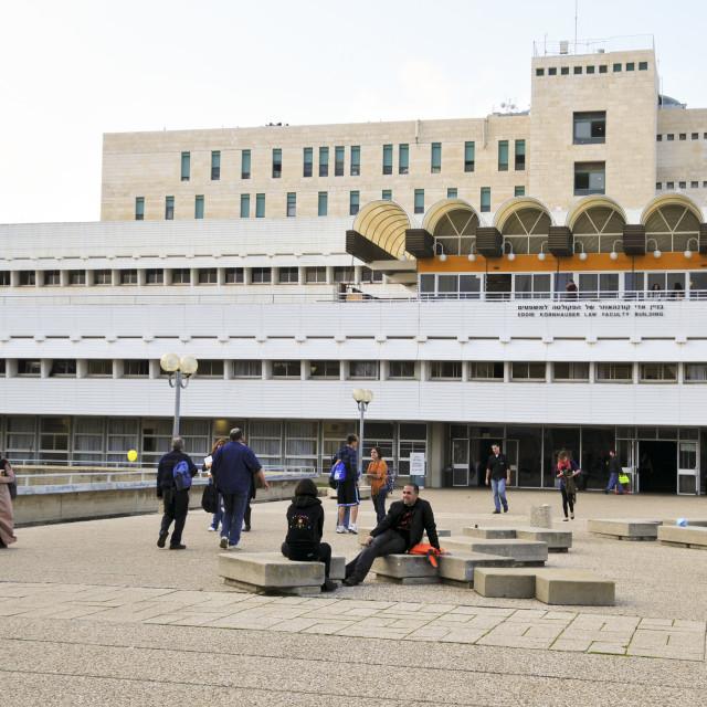 """Haifa University,"" stock image"