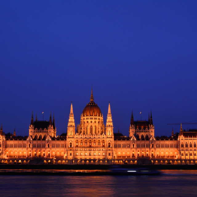 """Parliament building in Budapest, capital of Hungary."" stock image"