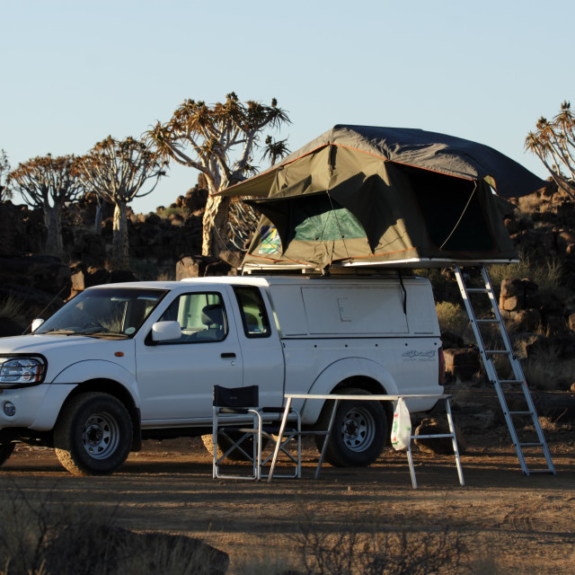 """Camping"" stock image"