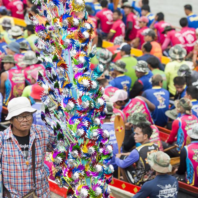 """THAILAND BURIRAM SATUEK LONGBOAT RACE"" stock image"