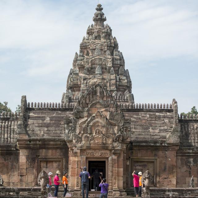 """""""THAILAND BURIRAM KHMER TEMPLE PHANOM RUNG"""" stock image"""