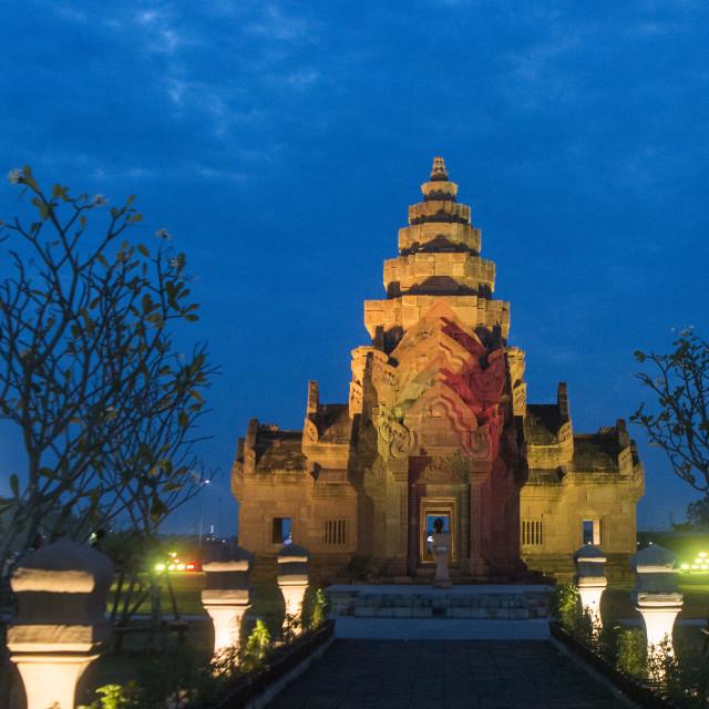 """""""THAILAND BURIRAM CASTLE PARK"""" stock image"""