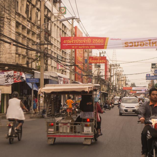 """THAILAND BURIRAM CITY CENTRE"" stock image"
