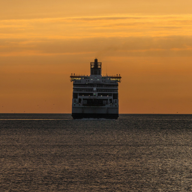 """Dawn Ferry"" stock image"