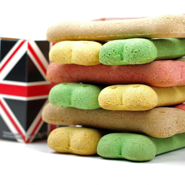 """british dog biscuits"" stock image"