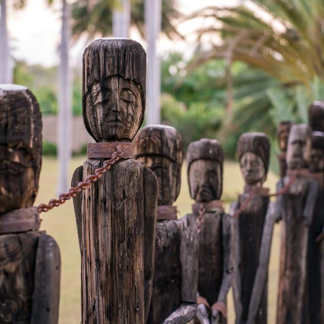 """Slavery in Haiti"" stock image"