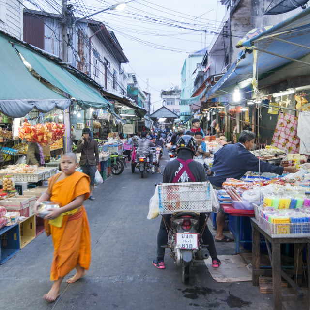 """THAILAND BURIRAM MARKET"" stock image"