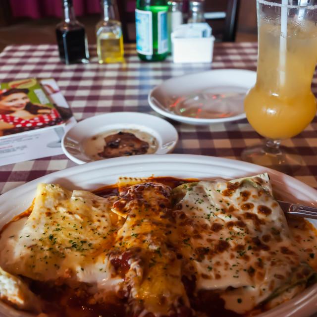 """""""Cheese Enchiladas"""" stock image"""
