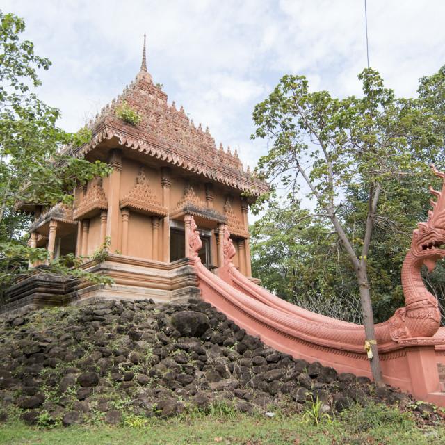 """THAILAND BURIRAM WAT KHAN ANGKHAN"" stock image"