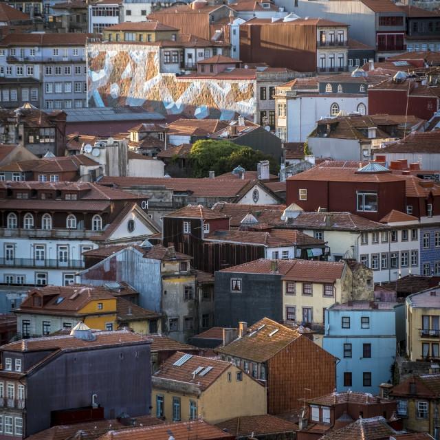 """Old town Porto Portugal"" stock image"