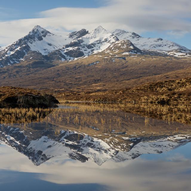 """Loch Nan Eilean"" stock image"