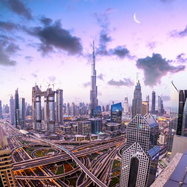 """""""Dubai and its magic"""" stock image"""