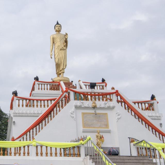 """THAILAND BURIRAM SATUEK BIG BUDDHA"" stock image"