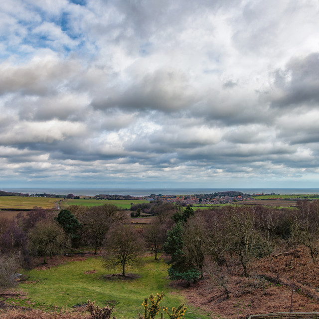 """Kelling Heath Weybourne View"" stock image"